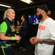 Odell Beckham Jr Nickelodeon Kids' Choice Sports 2019 - Green Room