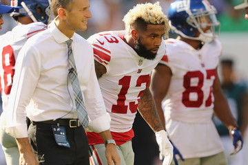 Odell Beckham New York Giants v Philadelphia Eagles