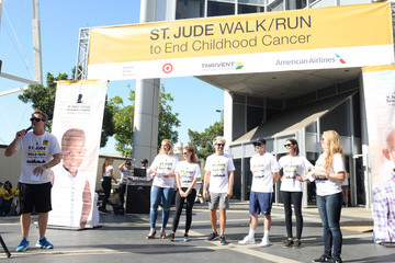 Odette Annable St.Jude Walk/Run Hosted By Lucy Hale