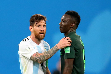 Oghenekaro Etebo Nigeria Vs. Argentina: Group D - 2018 FIFA World Cup Russia