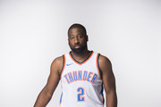 Raymond Felton #2 of the Oklahoma City Thunder poses for a photo during media day at Chesapeake Energy Arena on September 25, 2017 in Oklahoma City, Oklahoma.  NOTE TO USER: User expressly acknowledges and agrees that, by downloading and/or using this photograph, user is consenting to the terms and conditions of the Getty Images License Agreement.