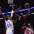 Patrick Patterson and Paul George Photos