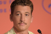 """Miles Teller attends the """"Too Old To Die Young"""" press conference during the 72nd annual Cannes Film Festival on May 18, 2019 in Cannes, France."""