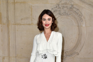 Olga Kurylenko Christian Dior : Photocall - Paris Fashion Week ...
