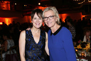 "Actress Rosemarie DeWitt and author Elizabeth Strout attend the ""Olive Kitteridge"" New York Premiere After Party at the Altman Building on October 27, 2014 in New York City."