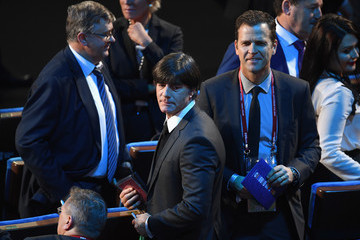Oliver Bierhoff Joachim Loew Final Draw for the 2018 FIFA World Cup Russia