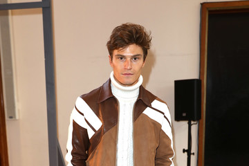 Oliver Cheshire Celebrities & Front Row - Day 1 - LFW Men's January 2017