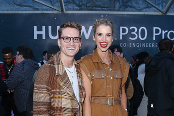 Oliver Proudlock Huawei Create Aurora Borealis Inspired Installation Above Tower Of London To Launch New P30 Handset