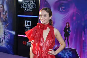 """Olivia Cooke Premiere Of Warner Bros. Pictures' """"Ready Player One"""" - Arrivals"""