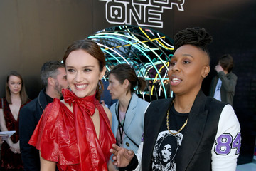 Olivia Cooke Premiere Of Warner Bros. Pictures' 'Ready Player One' - Red Carpet