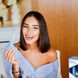 Olivia Culpo Crest X Olivia Culpo Team Up to Celebrate the Beauty Launch of NEW Crest Whitening Emulsions