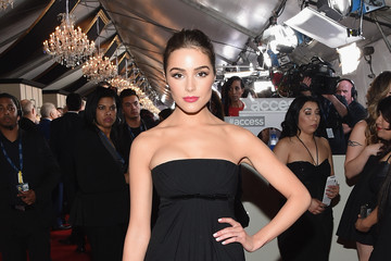 Olivia Culpo The 57th Annual GRAMMY Awards - Red Carpet