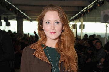 Olivia Hallinan Front Row: Day 2 - London Collections Men AW16