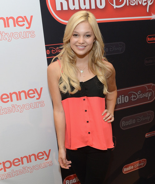 "Olivia Holt - Olivia Holt From Disney Channel's ""Kickin' It"" Joins Radio Disney At jcpenney To Celebrate Back-To-School At jcp #MakeItYours"
