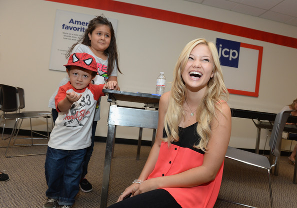 """Olivia Holt From Disney Channel's """"Kickin' It"""" Joins Radio Disney At jcpenney To Celebrate Back-To-School At jcp #MakeItYours"""