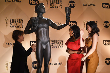 Olivia Munn 24th Annual SAG Awards Nominations Announcement