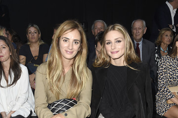 Olivia Palermo Front Row at Moncler Gamme Rouge