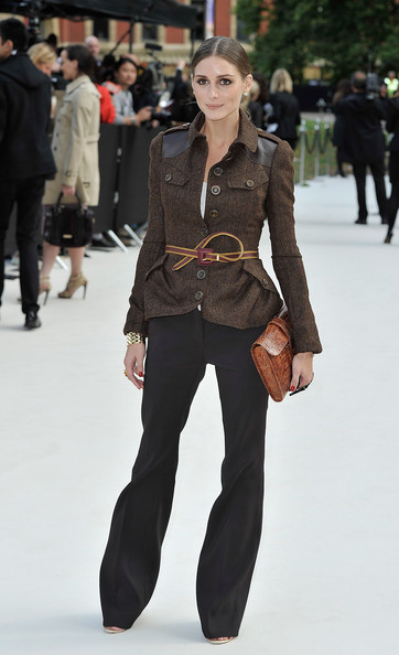 Olivia Palermo - Burberry Spring Summer 2013 Womenswear Show - Arrivals