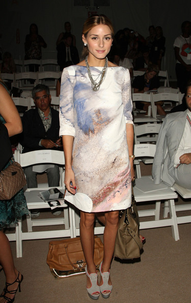 Olivia Palermo - Carlos Miele - Front Row - Spring 2010 MBFW