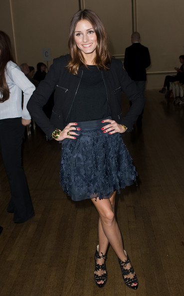 Olivia Palermo Olivia Palermo attends the Julien Macdonald s/s 2011 fashion show during London Fashion Week on September 19, 2010 in London, England.