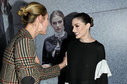 Lauren Remington Platt and the designer attend the Olivia Palermo Collection presentation during New York Fashion Week: The Shows on February 12, 2020 in New York City.