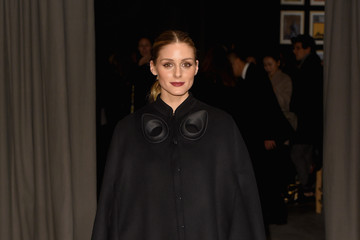 Olivia Palermo Burberry - Arrivals - LFW February 2017