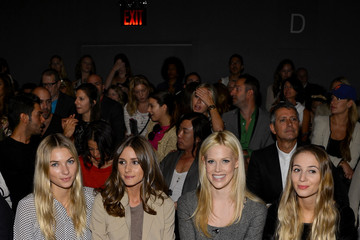 Olivia Palermo Jessica Hart Rachel Zoe - Front Row - Spring 2013 Mercedes-Benz Fashion Week