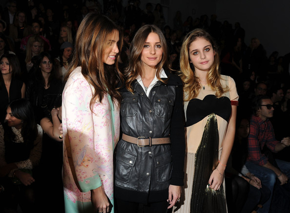 Olivia Palermo - Jill Stuart - Front Row - Fall 2012 Mercedes-Benz Fashion Week