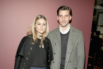 Olivia Palermo Johannes Huebl Sienna Miller and Dominic West Celebrate 'The Tale of Thomas Burberry' in New York