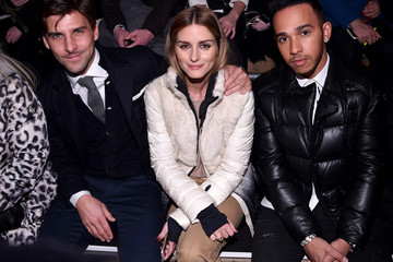 Olivia Palermo Johannes Huebl Moncler Grenoble Fall/Winter 2015 - Front Row And Backstage