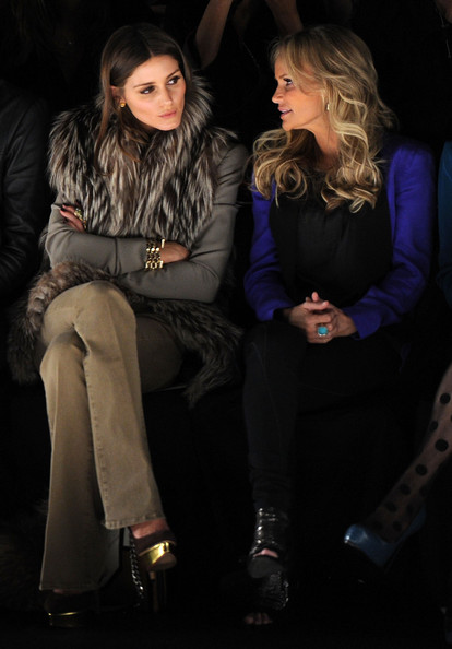 Olivia Palermo - Rebecca Minkoff  - Front Row - Fall 2012 Mercedes-Benz Fashion Week