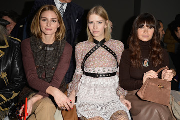 Olivia Palermo Front Row at Giambattista Valli