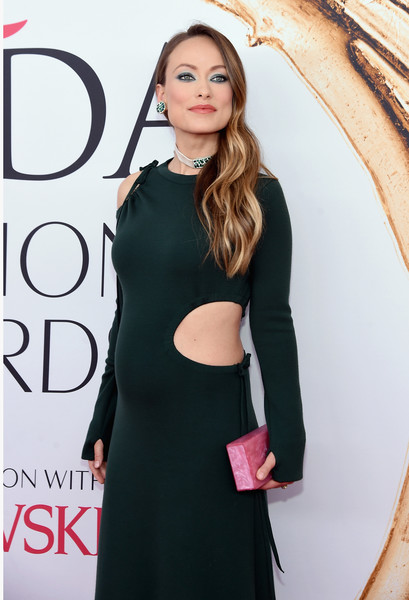 2016 CFDA Fashion Awards - Arrivals [clothing,dress,shoulder,little black dress,hairstyle,fashion,premiere,neck,cocktail dress,fashion model,arrivals,olivia wilde,hammerstein ballroom,new york city,cfda fashion awards]