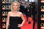 Gillian Anderson - Every Look at the Olivier Awards 2015