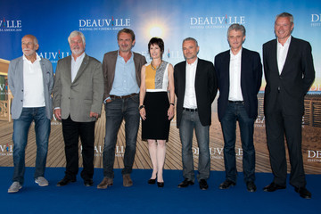 Olivier-Rene Veillon 'Gale Ann Hurd' Photocall At The 39th Deauville Film Festival