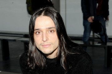 Olivier Theyskens Backstage at the Theory Show