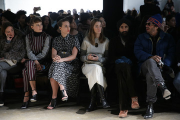 Olivier Zahm Yigal Azrouel - Front Row - Mercedes-Benz Fashion Week Fall 2015