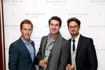 Ollie Baines Celebs Attend the Rosewood London Launch