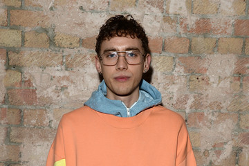 Olly Alexander Celebrities & Front Row - Day 2 - LFW Men's January 2017