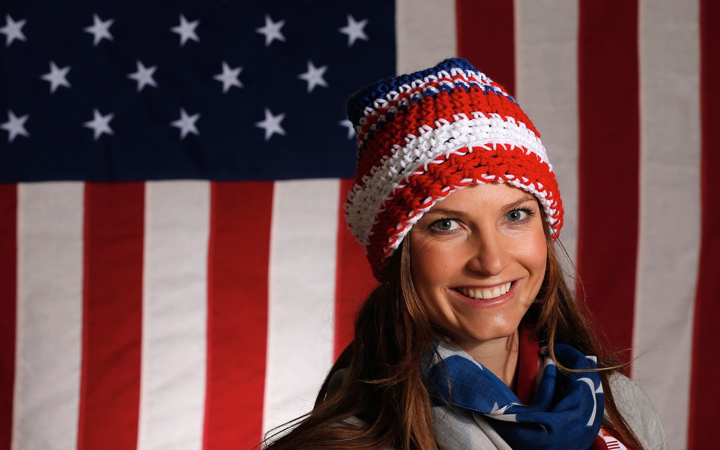 julia mancuso pictures   olympic athletes pose for