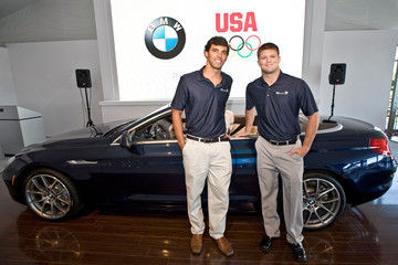 Jake Herbert U.S. Olympic Gold Medalist Swimmer Ricky Berens And U.S. Open Wrestling Champion Jake Herbert Participate In Question & Answer Session During The 2011 BMW Championship