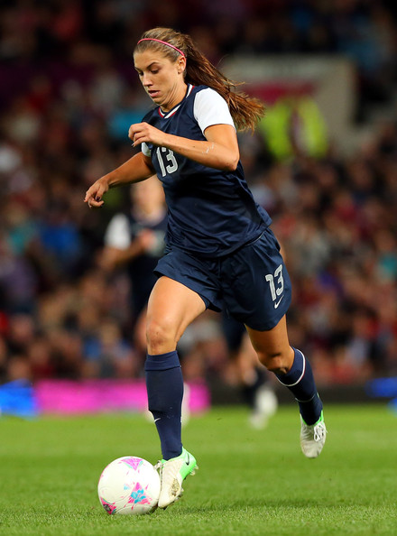 Alex Morgan Dribbling 2013 Team USA Moves On To Face Team