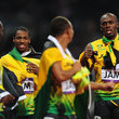 Usain Bolt and Michael Frater Photos