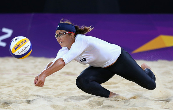Misty+May-Treanor in Olympics Day 3 - Beach Volleyball