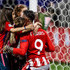 Fernando Torres Photos - Fernando Torres #9 of Atletico Madrid celebrates with his children after the UEFA Europa League Final between Olympique de Marseille and Club Atletico de Madrid at Stade de Lyon on May 16, 2018 in Lyon, France. - Olympique de Marseille Vs. Club Atletico de Madrid - UEFA Europa League Final
