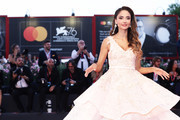 Patricia Contreras walks the red carpet ahead of the 'Om Det Oandliga' (About Endlessness) screening during the 76th Venice Film Festival at Sala Grande on September 03, 2019 in Venice, Italy.