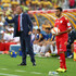 Paul Le Guen Photos - Oman head coach Paul Le Guen talks to his team during the 2015 Asian Cup match between Oman and Australia at ANZ Stadium on January 13, 2015 in Sydney, Australia. - Oman v Australia
