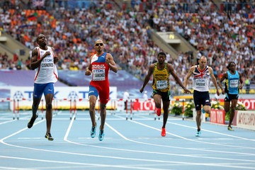 Omar Cisneros IAAF World Athletics Championships Moscow: Day 4