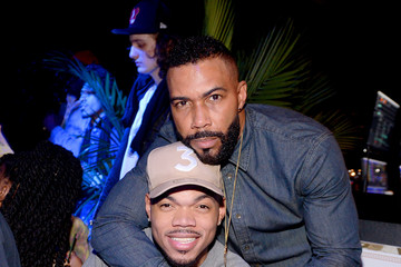 Omari Hardwick Chance the Rapper Entertainment  Pictures of the Month - February 2020