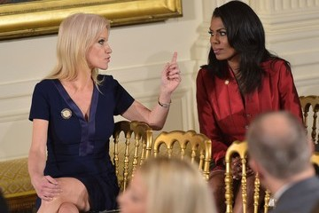 Omarosa Manigault Trump Swears in Senior Staff at White House